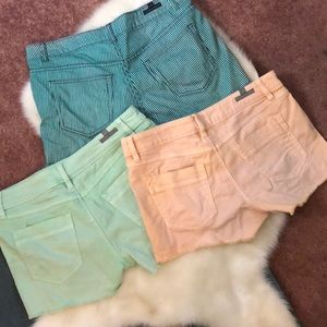 Lauren Conrad Shorts Lot Three pairs Size 8